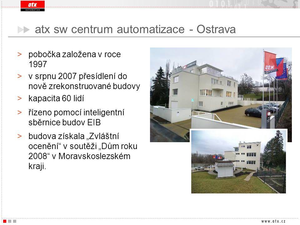 >pobočka založena v roce 1997 >v srpnu 2007 přesídlení do nově zrekonstruované budovy >kapacita 60 lidí >řízeno pomocí inteligentní sběrnice budov EIB