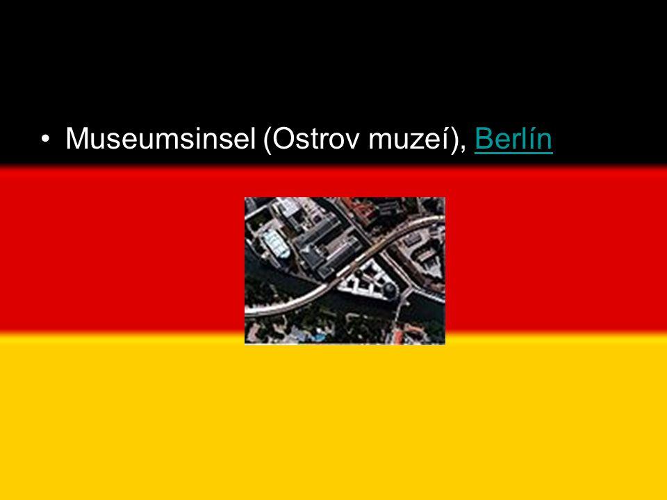 •Museumsinsel (Ostrov muzeí), BerlínBerlín