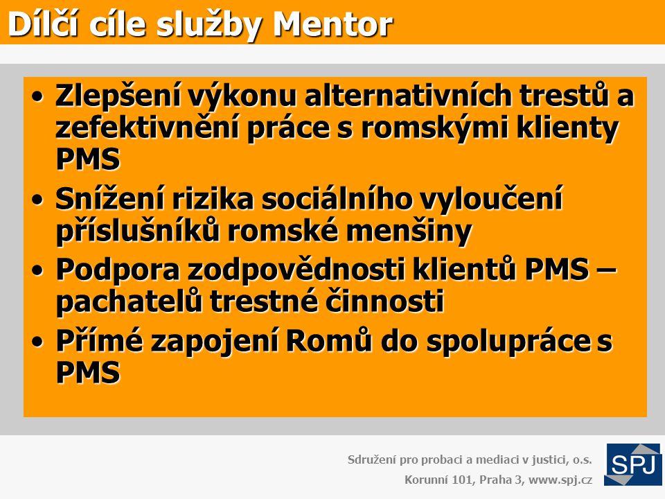 Typy klientů Sdružení pro probaci a mediaci v justici, o.s.
