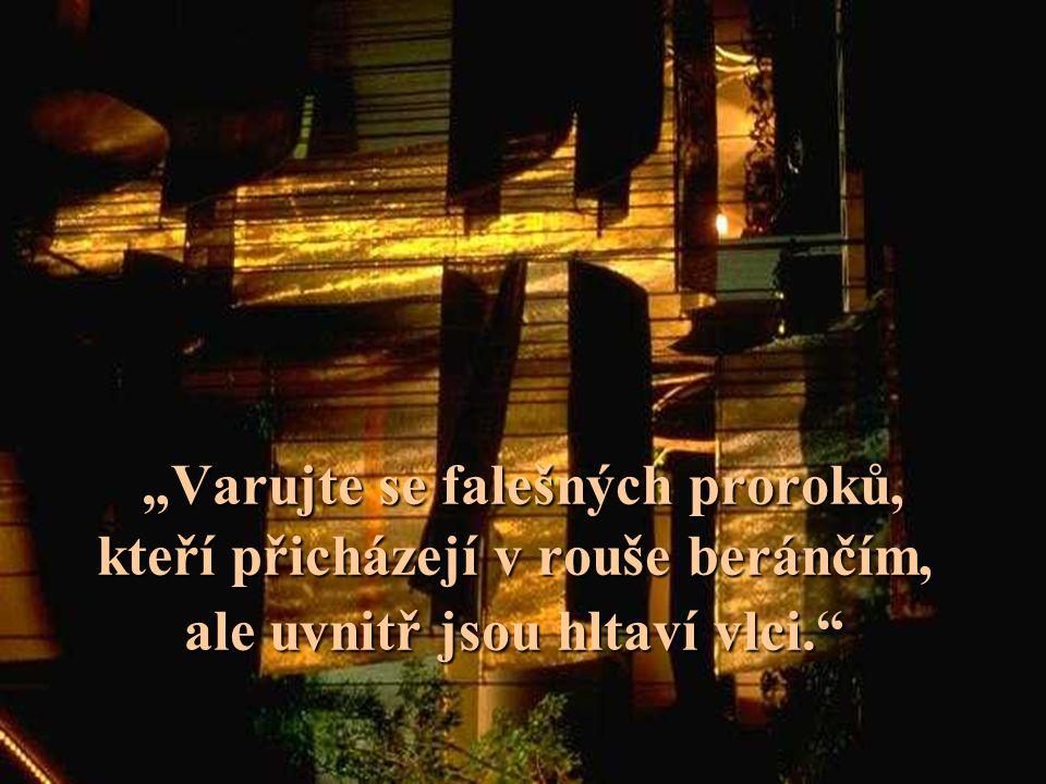 5. Zbaveni vnitřní svobody •Jim Jones = test věrnosti •Svědkové = kolektivní svědomí •Moonovci = manipulace jednotlivce i davu housenky Strach a násil