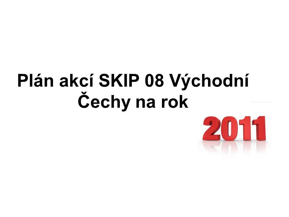 Plán akcí SKIP 08 Východní Čechy na rok