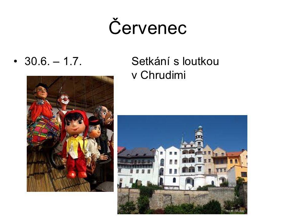 Srpen •Víkendové setkání s Máchou v Měk Třemošnice a na hradě Lichnici