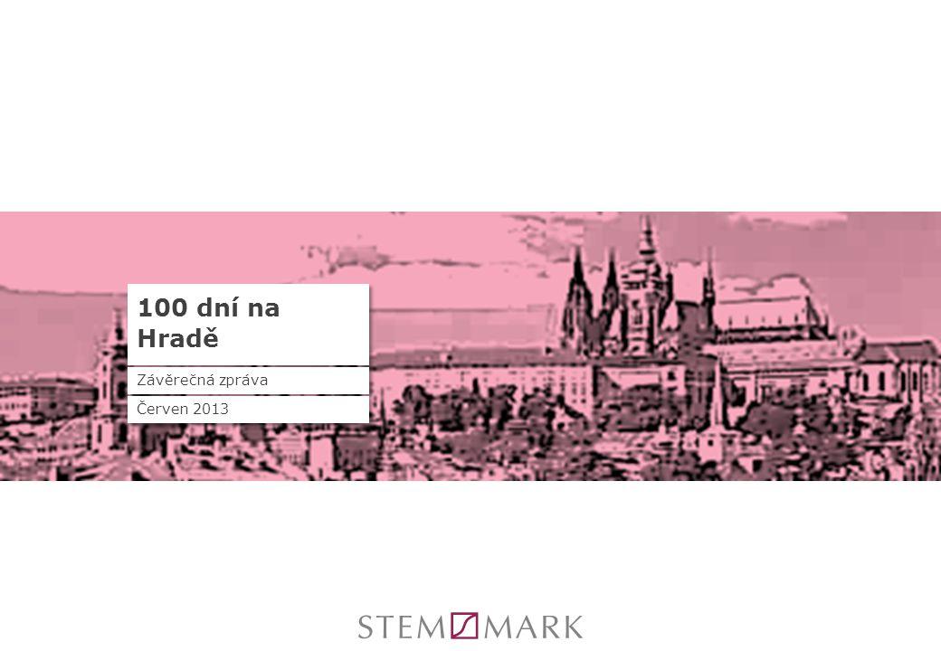 100 dní na Hradě Závěrečná zpráva Červen 2013