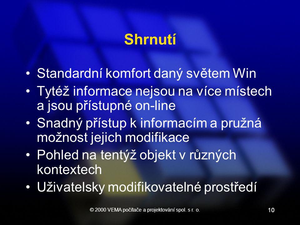 © 2000 VEMA počítače a projektování spol. s r. o.