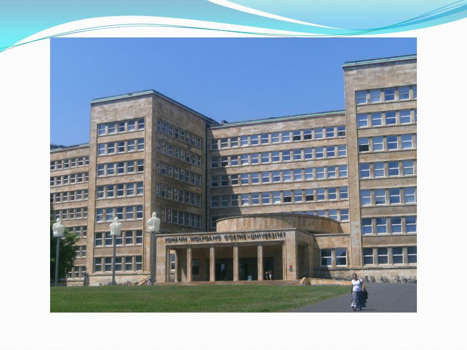 Základní informace  Letní škola se koná ve Frankfurtu nad Mohanem.