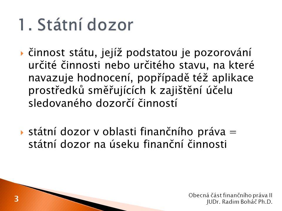  zákon č.93/1996 Sb. 1. bankovní dohled České národní banky 2.