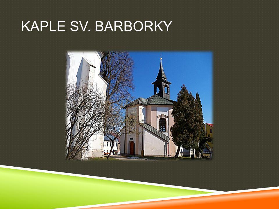 KAPLE SV. BARBORKY