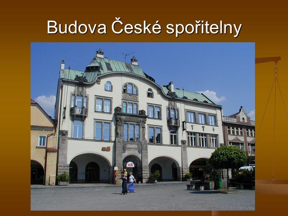 Budova České spořitelny
