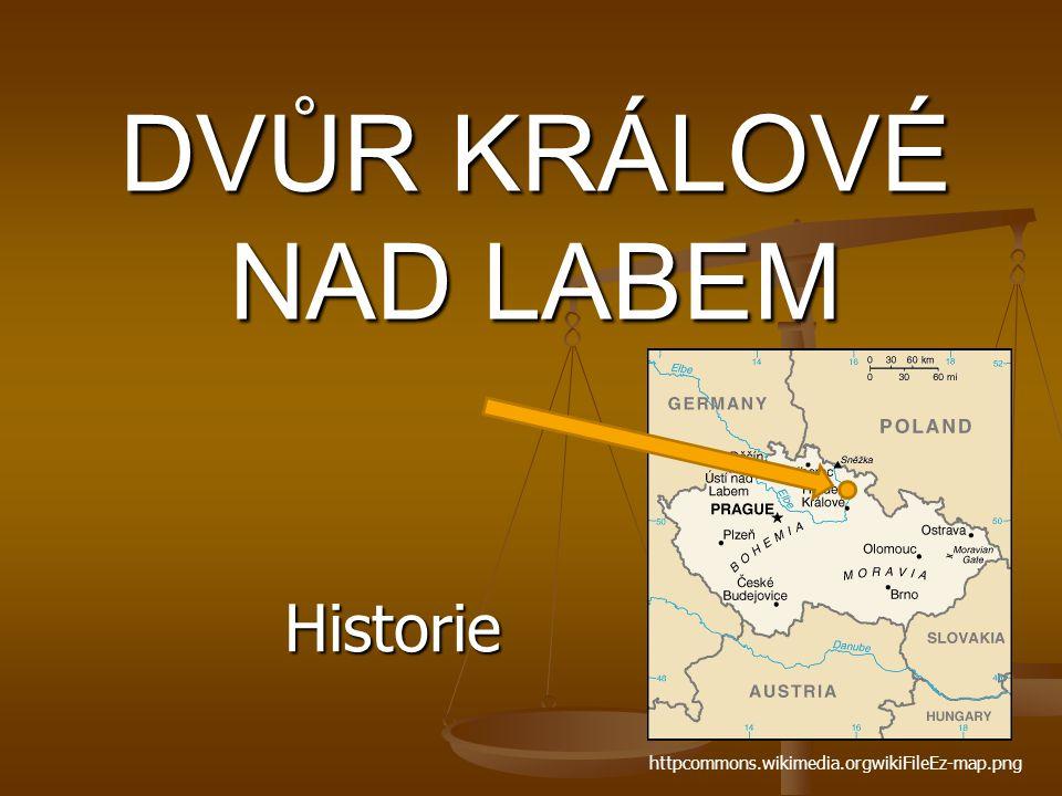 DVŮR KRÁLOVÉ NAD LABEM Historie httpcommons.wikimedia.orgwikiFileEz-map.png