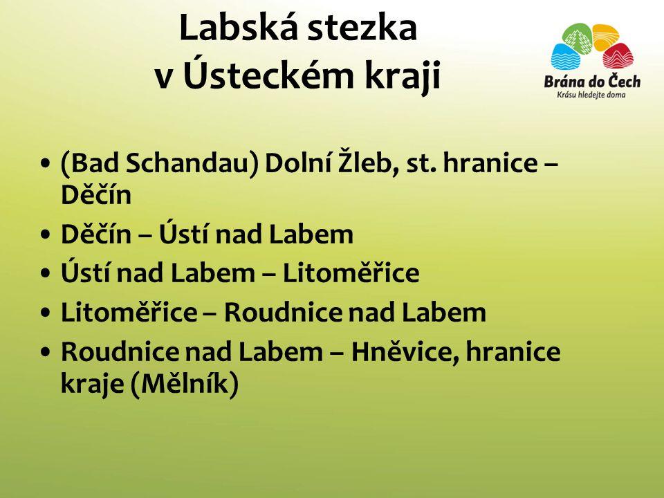 Labská stezka v Ústeckém kraji •(Bad Schandau) Dolní Žleb, st.