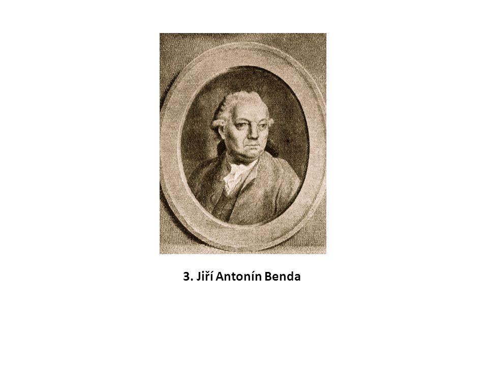3. Jiří Antonín Benda