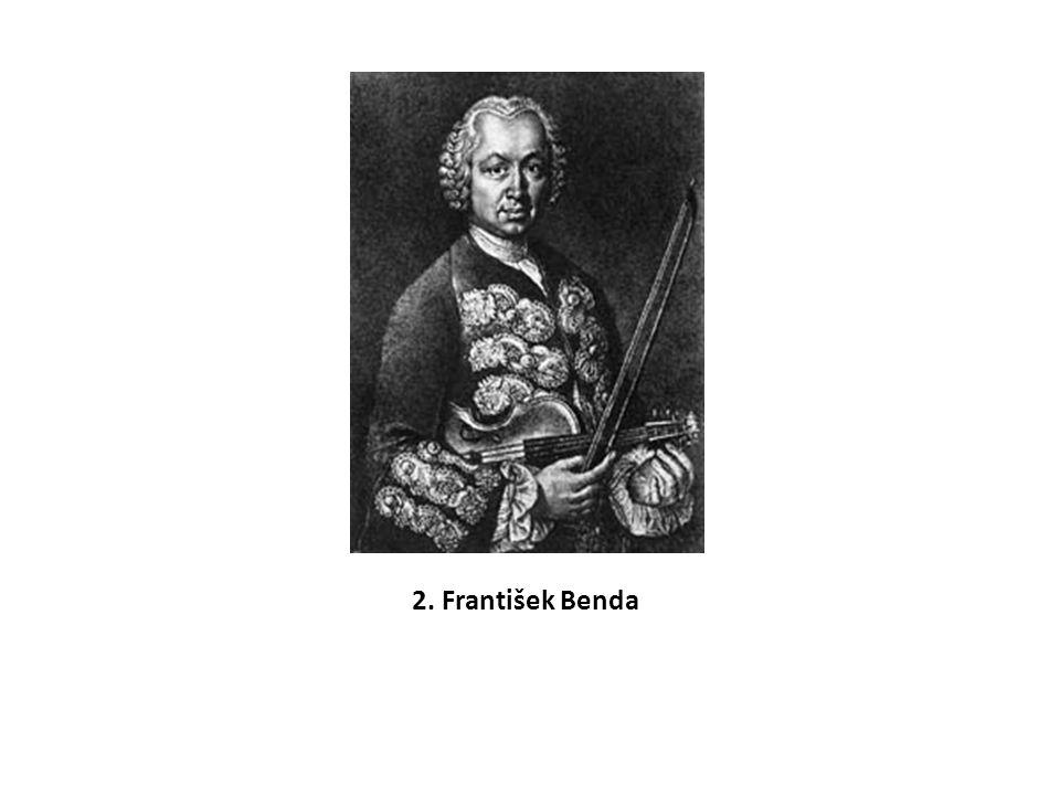 František Benda byl mimořádný interpret a v kompozici dokázal zůstat českým melodikem a nepodlehnout módě Vivaldiho a Tartiniho.