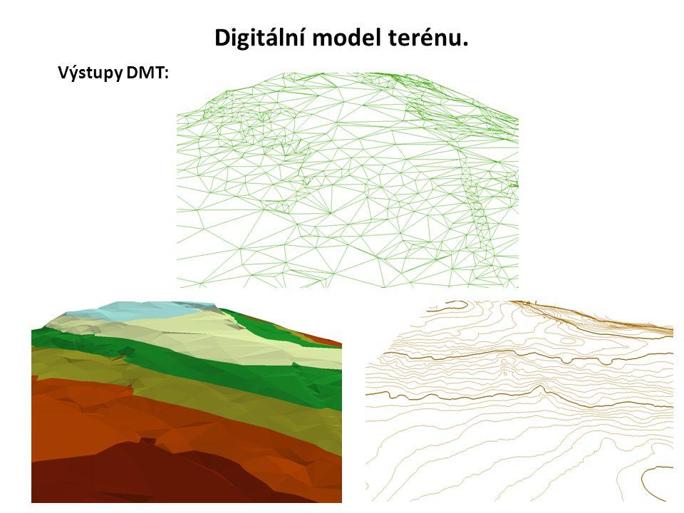 4 Digitální model terénu.
