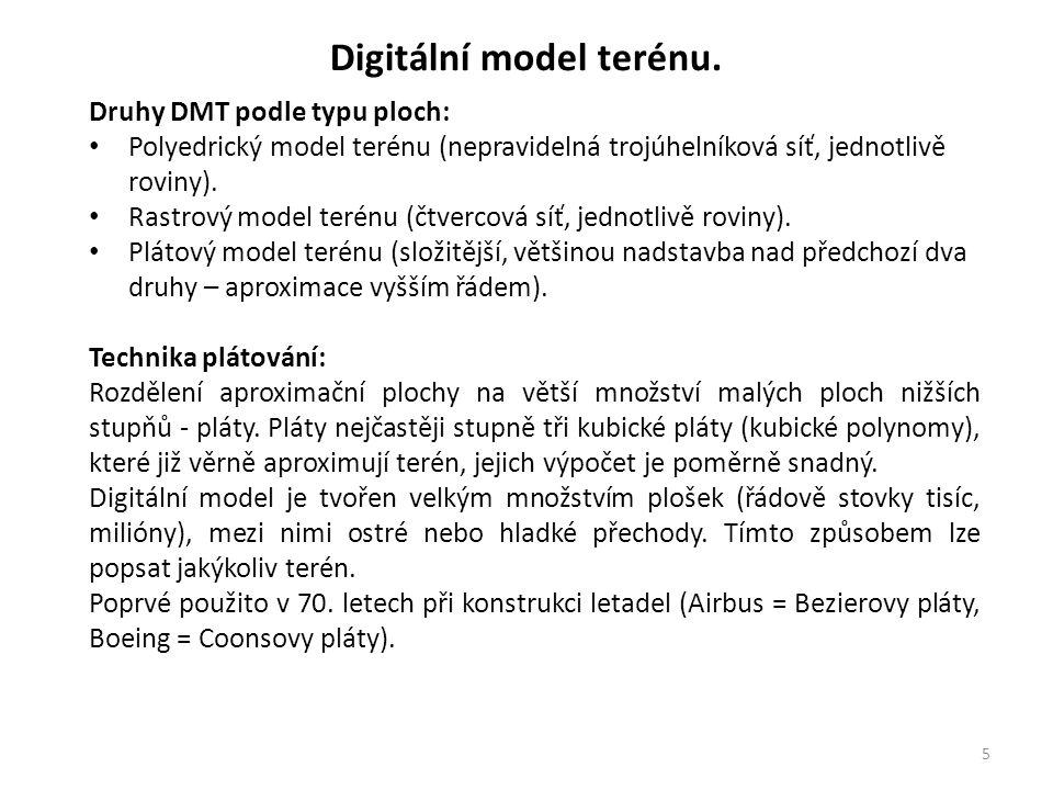 6 Digitální model terénu.