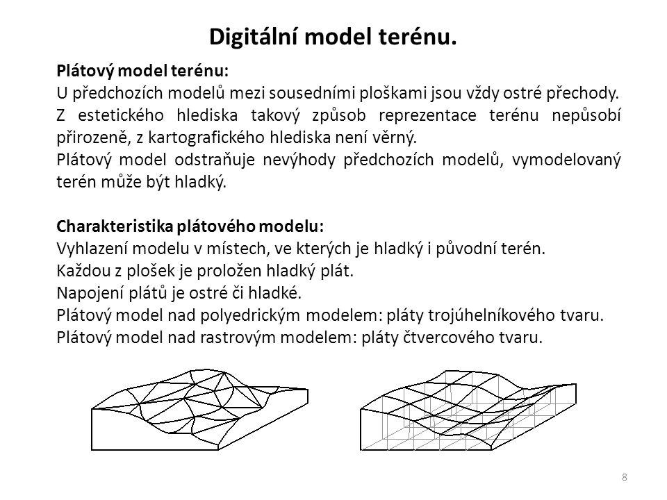 9 Digitální model terénu.