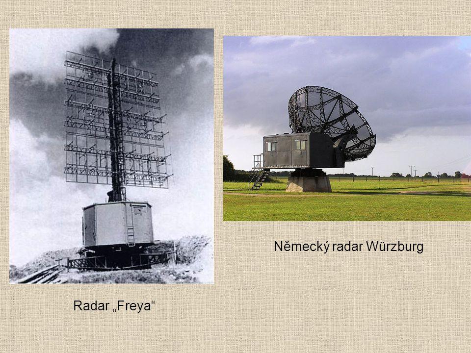 "Německý radar Würzburg Radar ""Freya"""
