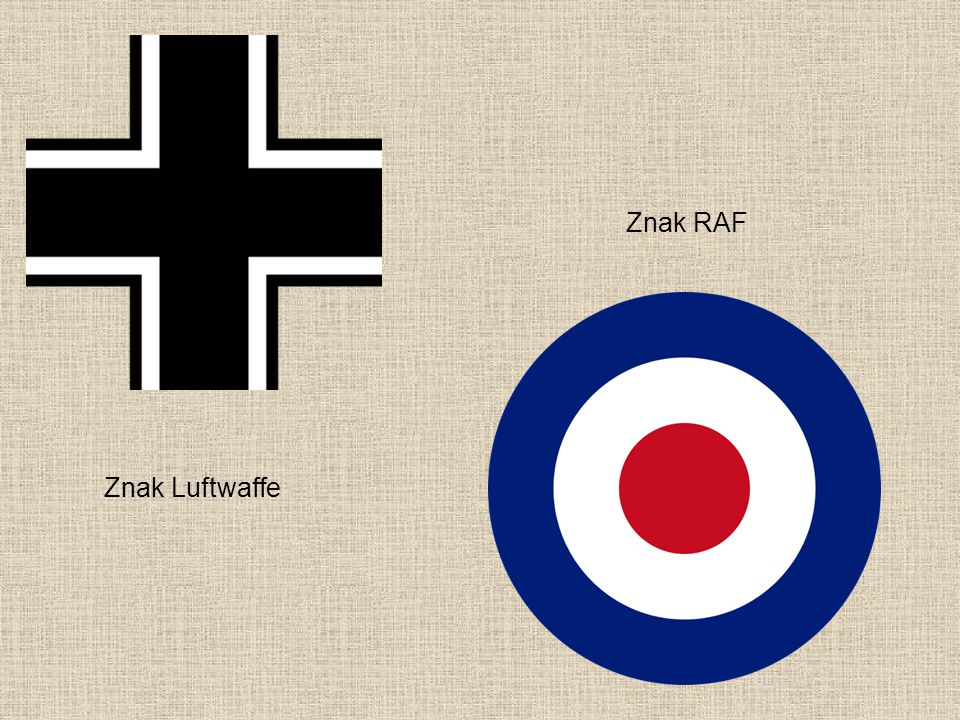 Znak RAF Znak Luftwaffe