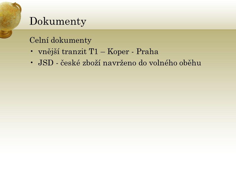 Přeprava kontejnerů z/do ČR Železniční doprava •METRANS, a.s.