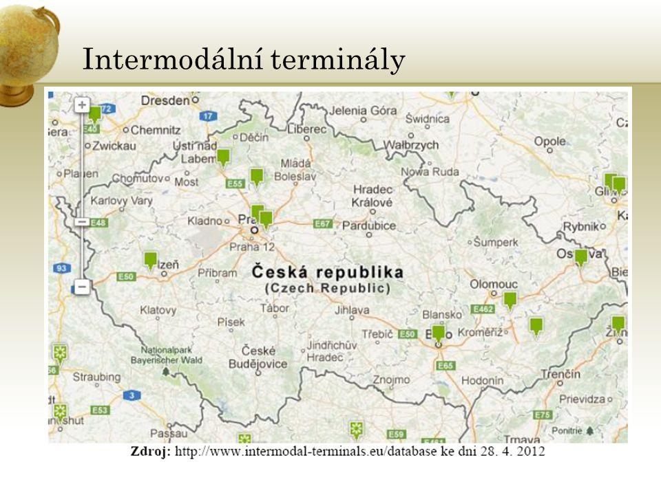 Alternativní trasa •Transsibiřská magistrála •provozuje společnost TRANS CONTAINER