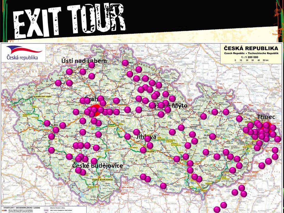 EXIT Tour KAŽDÝ MÁ SVÉ POTŘEBY ŠKOLY CÍRKVE ET TEAM OSTATNÍ PARTNEŘI