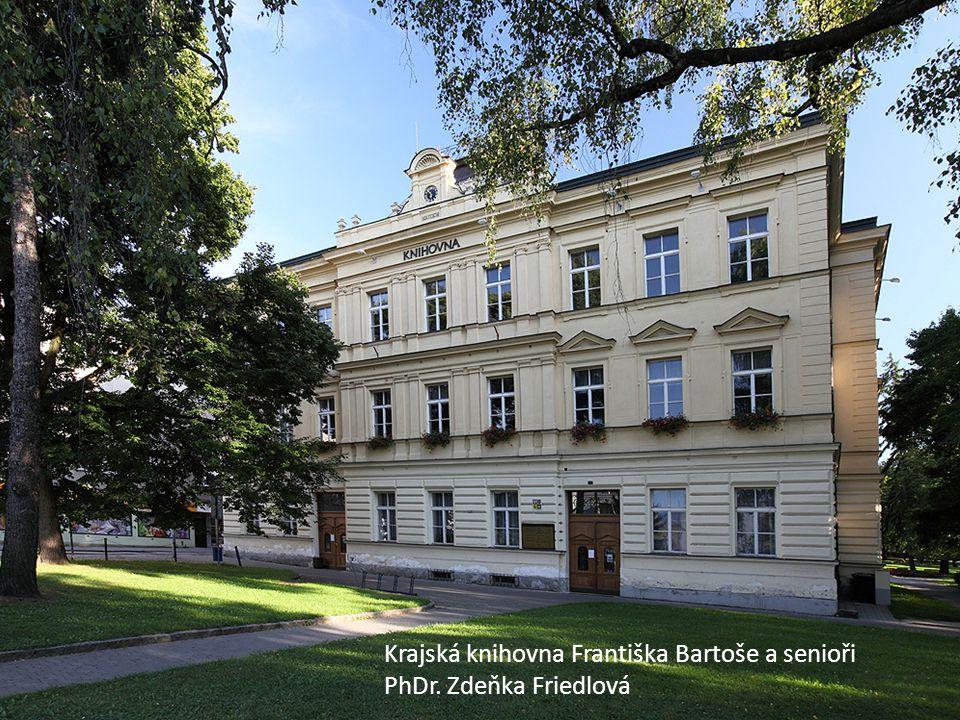 KKFB Krajská knihovna Františka Bartoše a senioři PhDr. Zdeňka Friedlová