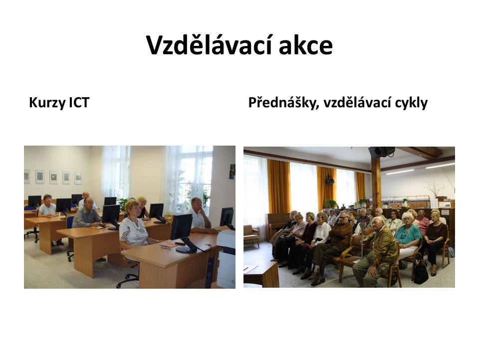 Vzdělávací akce Kurzy ICTPřednášky, vzdělávací cykly