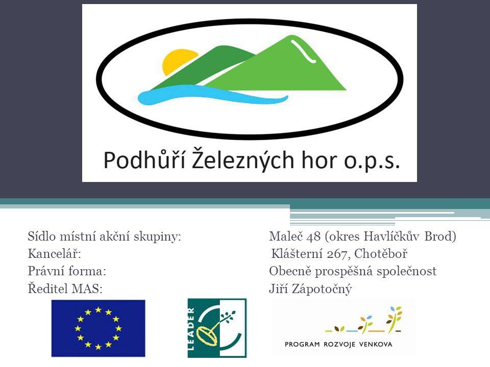 Strategický plán LEADER •Globálním cílem SPL je: Zlepšení kvality života a zvýšení atraktivity území MAS Podhůří Železných hor.