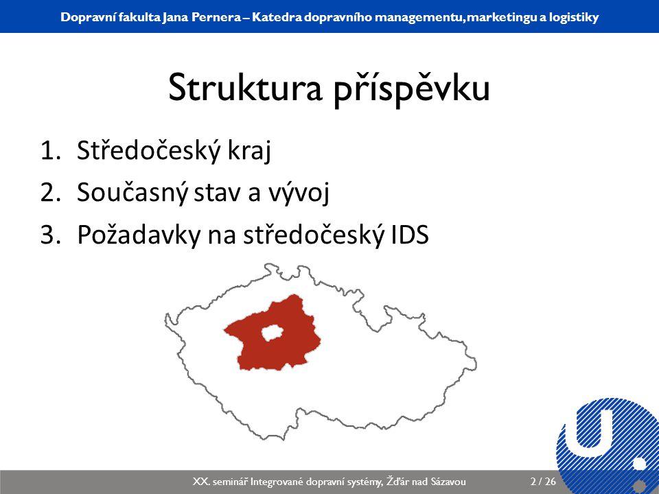 Katedra dopravního managementu, marketingu a logistiky KDMML/PLMGP Logistický management3 / 12 Dopravní fakulta Jana Pernera – Katedra dopravního managementu, marketingu a logistiky XX.