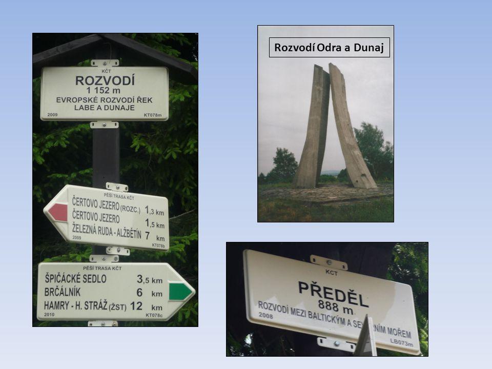 Rozvodí Odra a Dunaj