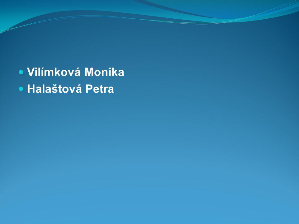  Vilímková Monika  Halaštová Petra