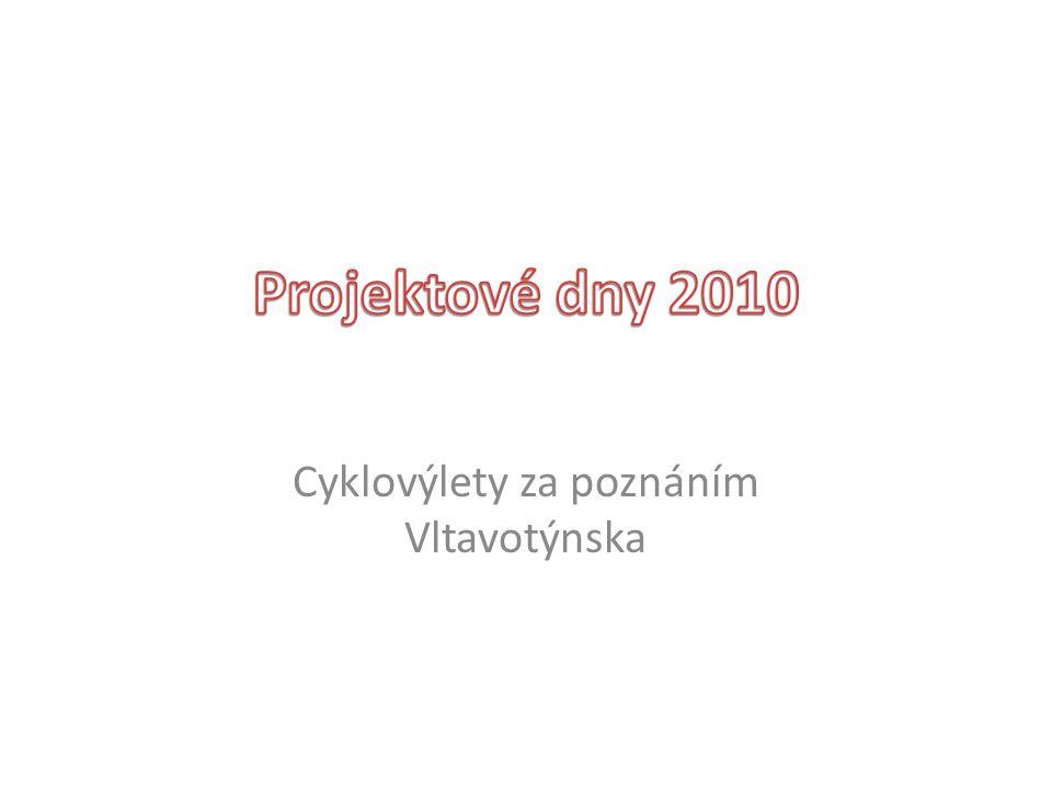 Cyklovýlety za poznáním Vltavotýnska