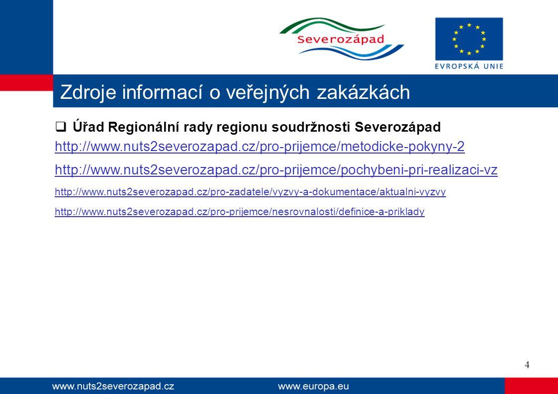  Úřad Regionální rady regionu soudržnosti Severozápad http://www.nuts2severozapad.cz/pro-prijemce/metodicke-pokyny-2 http://www.nuts2severozapad.cz/p