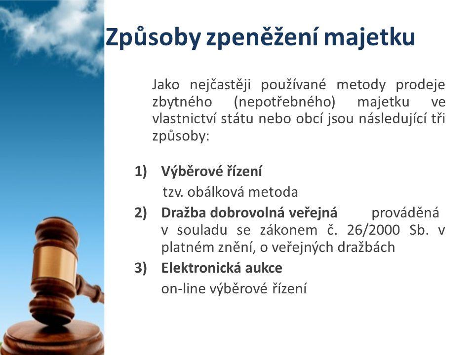 Efektivní nástroje zpeněžování obecného majetku část 2.