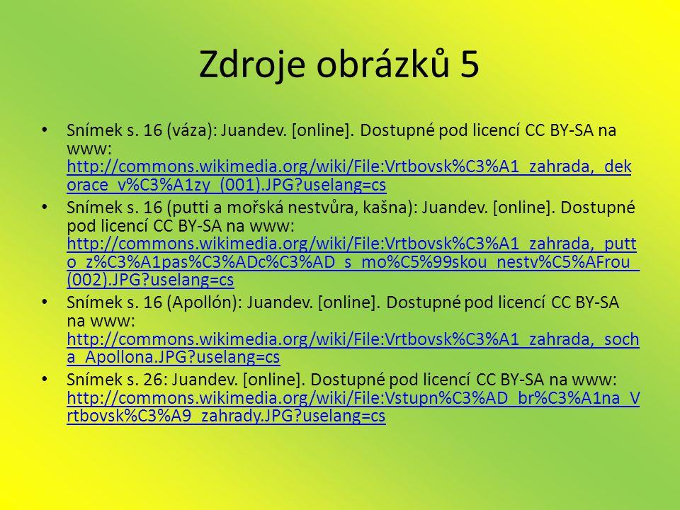 Zdroje obrázků 5 • Snímek s.16 (váza): Juandev. [online].
