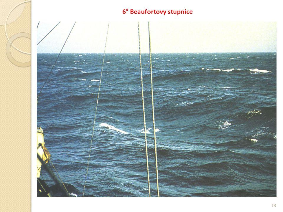 18 6° Beaufortovy stupnice