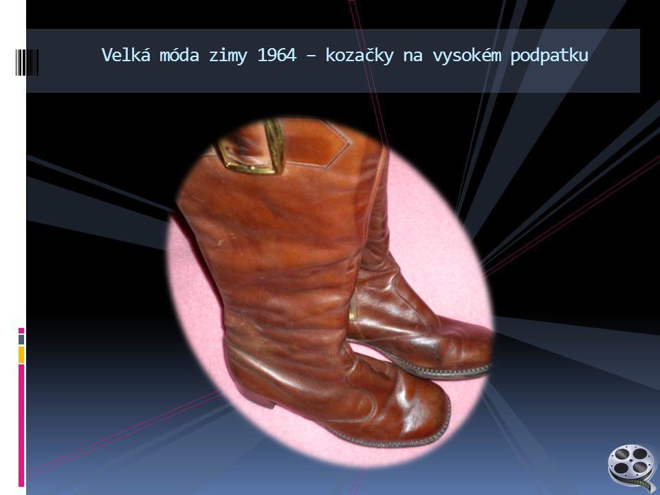 Velká móda zimy 1964 – kozačky na vysokém podpatku