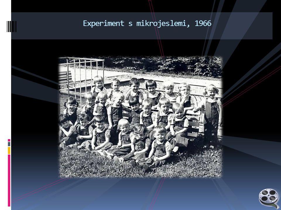 Experiment s mikrojeslemi, 1966