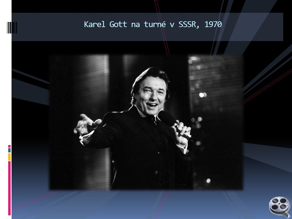 Karel Gott na turné v SSSR, 1970