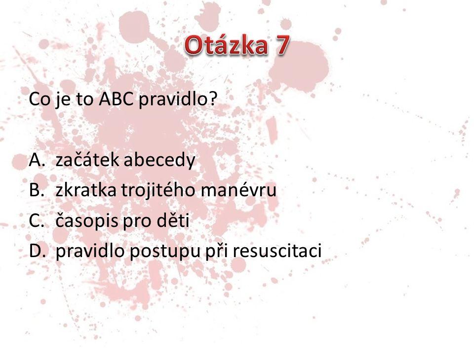 Co je to ABC pravidlo.