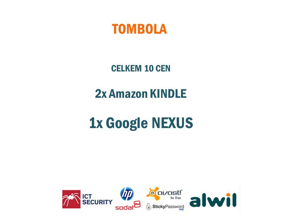 CELKEM 10 CEN 2x Amazon KINDLE 1x Google NEXUS