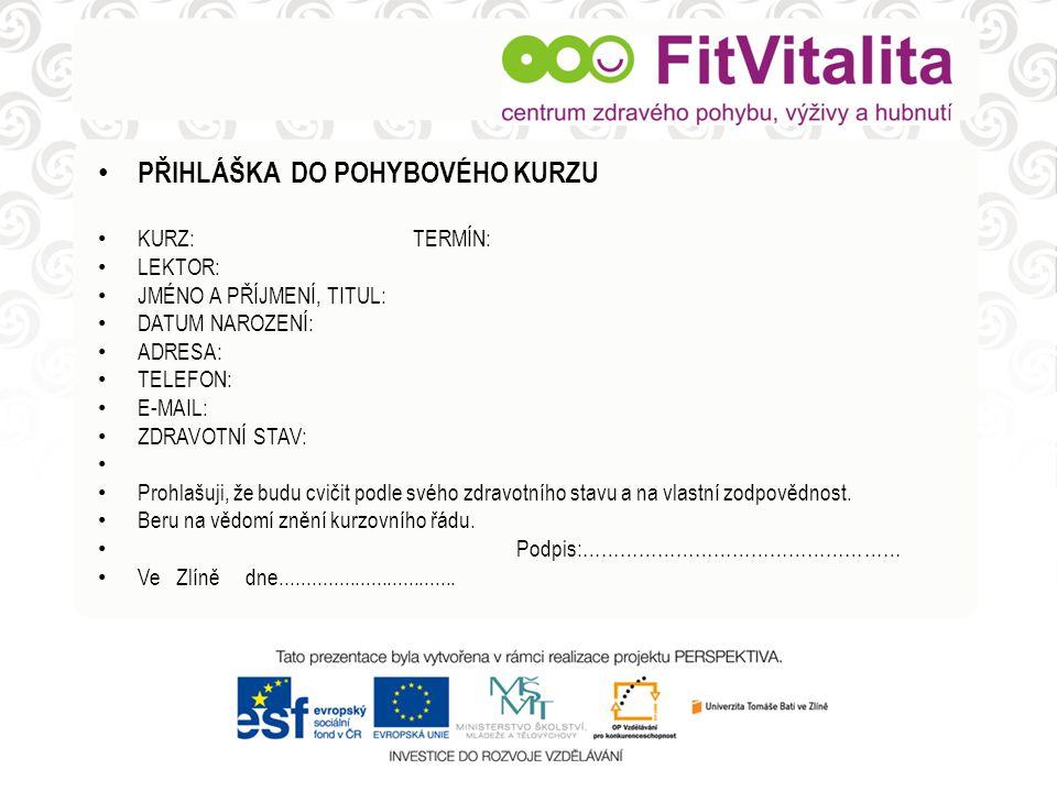 Česká republika: • 52% dospělé populace = nadváha či obezita • 21% populace svou hmotnost podhodnocuje • nad 45let má nadměrnou hmotnost 70% lidí