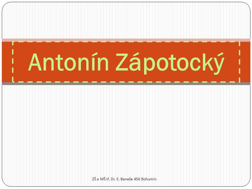 Antonín Zápotocký ZŠ a MŠ tř. Dr. E. Beneše 456 Bohumín