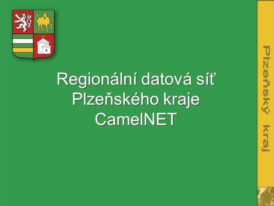 Regionální datová síť Plzeňského kraje CamelNET