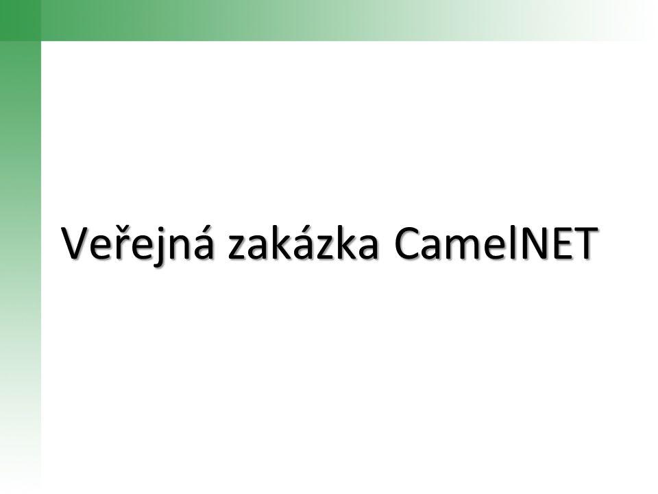 Veřejná zakázka CamelNET