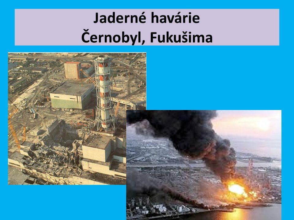 Jaderné havárie Černobyl, Fukušima