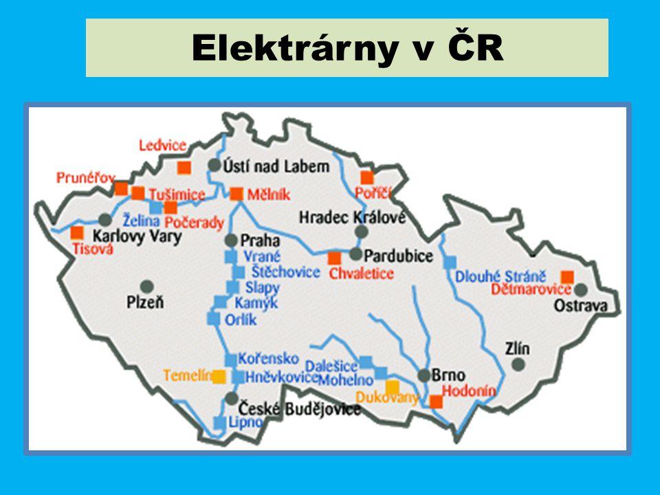 Elektrárny v ČR