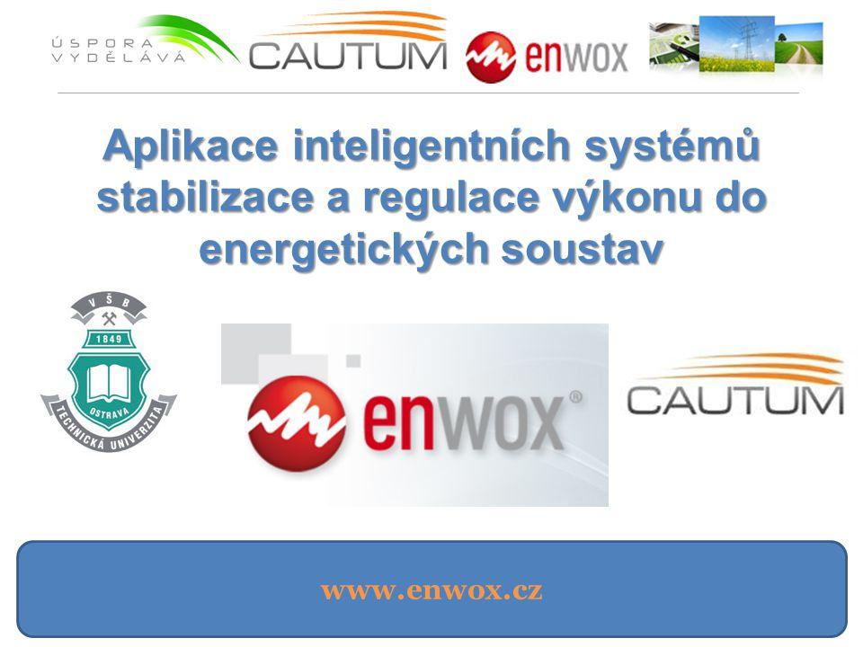 www.enwox.cz Aplikace inteligentních systémů stabilizace a regulace výkonu do energetických soustav