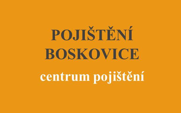 POJIŠTĚNÍ BOSKOVICE centrum pojištění