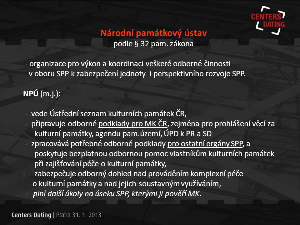 Památkový fond ČR (k 31.12.