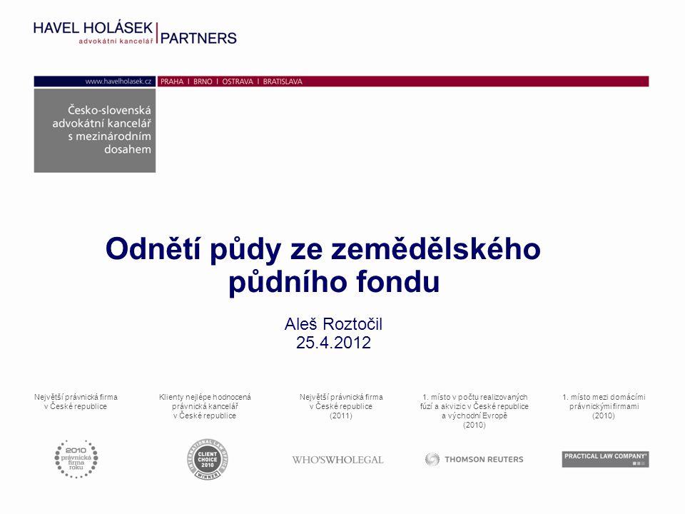 Největší právnická firma v České republice Klienty nejlépe hodnocená právnická kancelář v České republice Největší právnická firma v České republice (